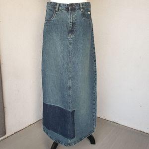 Mooks Denim Maxi Skirt Sz. L